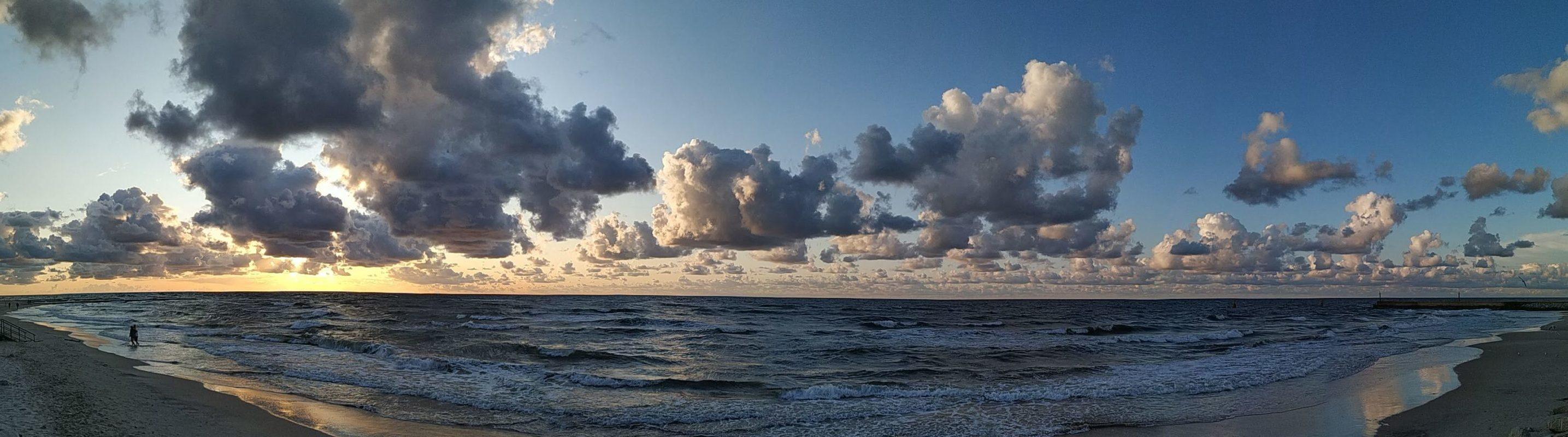 Morze Bałtyckie w Łebie